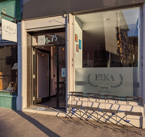 FIKA Dundee shop frontage